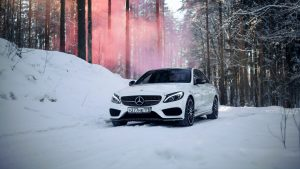 Mercedes-Benz_c450_c63_amg_White_Snow_539458_3840x2160